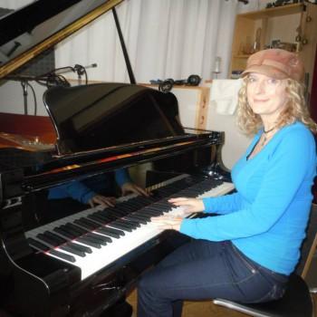 Recording at Real Piano near London